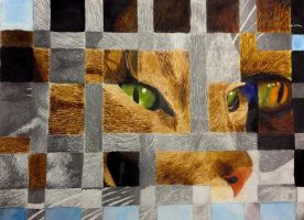 Watercolor and Graphite Weave by ToxicFumage