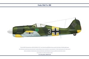 Fw190A4 JG54 1 by WS-Clave