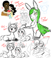 Join.me doodles 11/24/13 by OreoMilu
