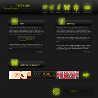 Portfolio Layout by davidquigley