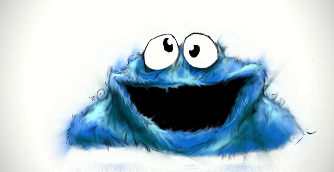 Cookie Monster by kent-of-artload