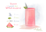 Iced Watermelon Obsession by abitfrank