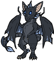Prize Art: Draconic Rodent Design by X-Ancelin-X