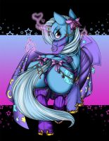 Rarity's Secret - Trixie (The Great and Powerful) by Longinius-II