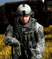Pvt. Nicolas Andrews U.S Army by LordHayabusa357