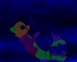 A is for Amber who drowned in a pool by HalloweenBerry