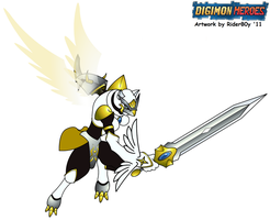 Digimon: Heroes - OmniRenamon 2 by HewyToonmore
