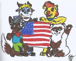 Day 403 - United States by Gruberv