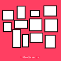 Photo Frame Vector by 123freevectors