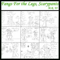 Fangs For the Legs, Scarypants by purplelemon