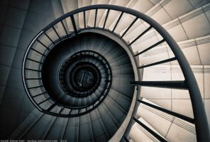Spiral Stairs of Noise by Wordup
