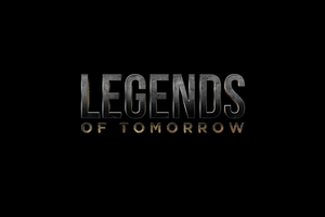 LEGENDS OF TOMORROW - LOGO by MrSteiners