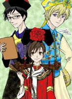 An Ouran Chinese New Year by Chinese-Shinigami