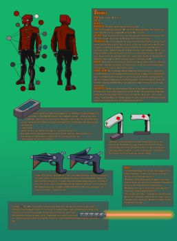 BoxHead Reference Sheet (Galactic Smackdown OCT) by SociallyBallistic