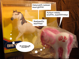 Breyer vs. MLP-Mint in Package by Marbletoast