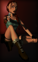 Classic Lara 4 by tombraider4ever