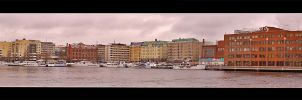 Tampere Panorama by DeviantPunisher