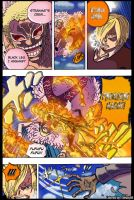 One Piece Chapter 724 Sanji VS Doflamingo Part 1 by Theahj90