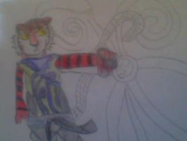 Tighera my own made up character by SuperSayian5Naruto