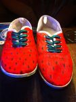 Watermelon shoes by Liarbriarpantsonfiar