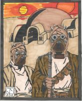 Tusken Gothic by HooliganAlley