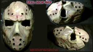 Skull Custom Sculpt Jason Mask by daunted