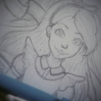 Sketch - Alice by Bsieged