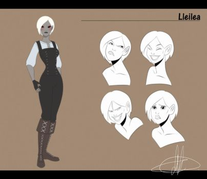 Commission: Lleilea by MakiLoomis