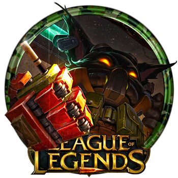 Omega Squad Veigar Dock Icon by OutlawNinja