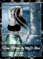 Glow Strings by Kittyd-Stock