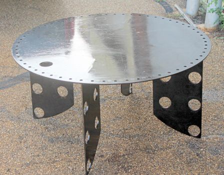 Recycledsalvage raymond guest deviantart for Table th fixed