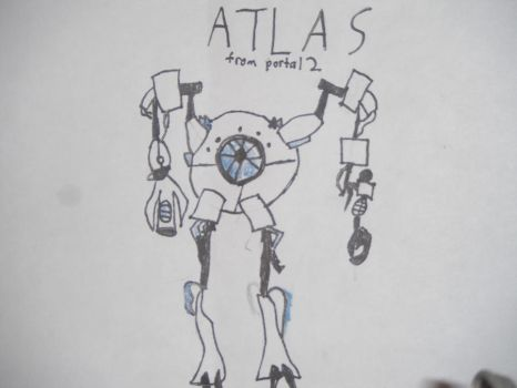ATLAS from portal 2 by Herbrex