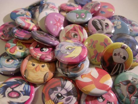 1in button designs! by MermaidSoupButtons