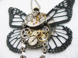 Steampunk Butterfly 2 Closeup by xxPRECIOUSMOMENTSxx