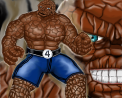 The Thing.. It's clobberin' time! by scayne