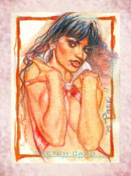 Vampirella charity card. by bpisek