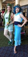 Megacon 2017 Mallow and Lana by kingofthedededes73