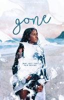 Wattpad Cover | Gone by ineffablely