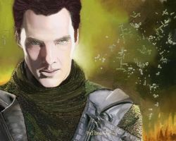 Benedict Cumberbatch ( Star Trek Khan ) 08 by BlueZest