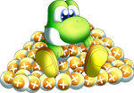 Yoshi with Points c: by Points-From-Yoshi