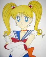 Sailor V Moon by DavisJes