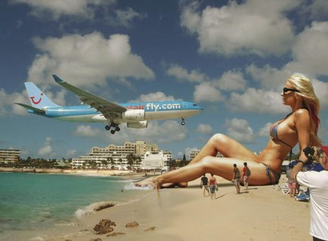 Welcome to Maho beach by sinan7964