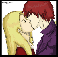 Sasori and Deidara[2] by vespertitio
