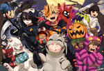 NARUTO: Happy Halloween! by Uzucake