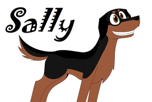Sally the Dog ^^ by Pack-Leader-Sally