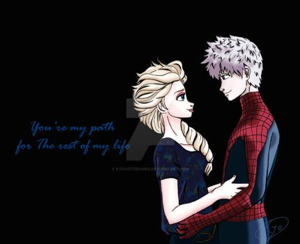 The Amazing Spider-man 2-Jelsa by KYOooTERCERA