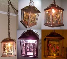 Steampunk Lamp -views- by Steampunked-Out
