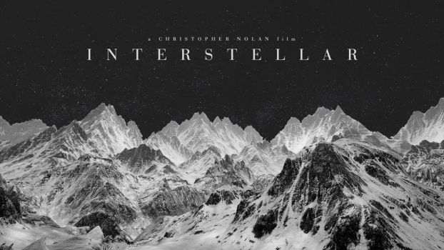 Interstellar Wallpaper 2 (Black and White) by rrpjdisc