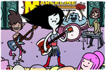 Marceline and the Scream Queens by theEyZmaster