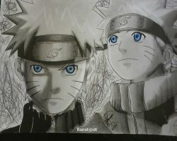 The Hero Uzumaki Naruto by Ronstadt